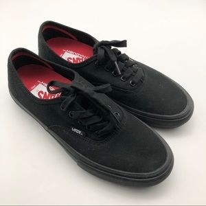 Vans Skateboard Black Shoes, size 8